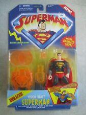 DC SUPERMAN ANIMATED TV SHOW DELUXE VISION BLAST SUPERMAN ACTION FIGURE MOC