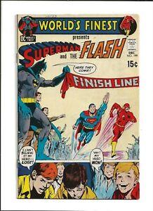 World's Finest #199 (1970) 3rd Superman Flash Race FN 6.0