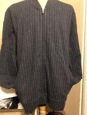 $250 Polo Ralph Lauren Double Knit Bomber Jacket Blue XXL