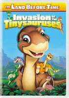 The Land Before Time 11 Invasione Di The Tinysauruses (2011) DVD Nuovo/Sigillato