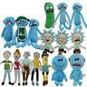 Rick and Morty Season 3 Pickle Rick Sanchez Morty Smith Plush Stuffed Doll Toys