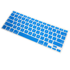 Ultra Thin BLUE Soft TPU Keyboard Cover Skin for Macbook  Pro Air 13 15 17 Inch