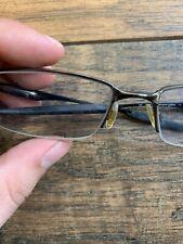 Oakley Eyeglasses OX3119-0455 halfshock Brushed Chrome Half Rim Frame 55[]19 G73