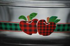 Anchor Ovenware Plaid Apple Casserole
