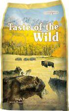 Taste of the Wild High Prairie Grain-Free Dry Dog Food 30lb-Bag (Free Shipping)