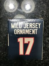Minnesota Wild NHL Hockey Sports Collector Series Glass Holiday Ornament