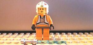 Lego Star Wars minifigura sw019 Luke Skywalker Pilot