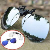 Hot New Men/Women Polarized UV400 Lens Clip-on Driving Myopia SunGlasses 81FSJ
