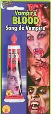 TUBE FAKE SPECIAL EFFECTS STAGE BLOOD~MAKEUP~VAMPIRE~HALLOWEEN COSTUME~US SELLER