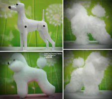 Dog Model, Dog Mannequin + Dog Wig for Pet Clip Dog Grooming Practice, Training