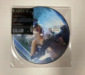 """LADY GAGA Lovegame 7"""" Streamline Records 2720318 2009 VG+ Picture Disc! BX1"""