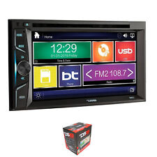 """DS18 Double Din 6.2"""" Touch Screen Bluetooth DVD/MP3/CD Player DDX6.2"""
