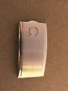 ~ Original Vintage Authentic Omega BRACELET Clasp/Buckle Cover S/S NOS ~