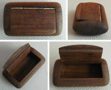 Wooden Plain Collectable Snuff Boxes