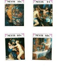 Nevis - 1990 - Rubens Fine Art - Set Of Four - MNH