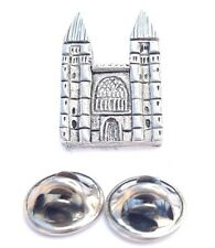 Southwell Minster Handcrafted in Solid Pewter in Uk Lapel Pin Badge