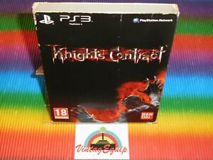 PS3 KNIGHTS CONTRACT SONY PLAYSTATION 3 PAL GAME COMPLETE