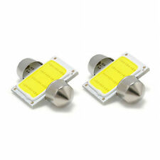 2pcs 31mm 12 SMD COB LED T10 6W White Light Car Interior Dome Lamp Bulbs Fashion