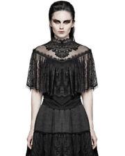Maglie e camicie da donna neri con colletto taglia M