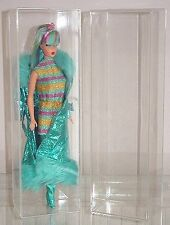Two Acrylic Display Cases for Barbie Dolls
