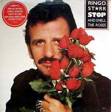 "RINGO STARR - Stop And Smell The Roses 1981 LP 12"" Nuovo SIGILLATO"