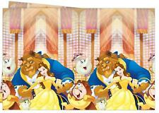 BEAUTY AND THE BEAST PLASTIC PARTY TABLE COVER BELLE NEW GIFT