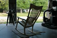 Handcrafted Maloof Style Rocking Chair
