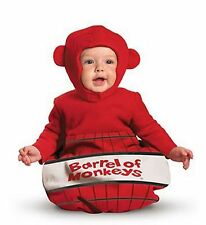 Barrel of Monkeys Halloween Costume Bunting Baby Infant 0-6 months