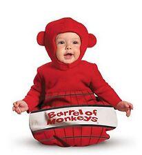 Barrel of Monkeys Halloween Costume Bunting Baby Infant 0-6 months