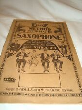 E Easy Z Method How To Play The Saxophone 1926 Booklet [32pages]