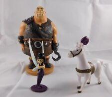 Disney Tangled PVC Figures Lot Thug Maximus Bonus Tinkerbell Friend Vidia