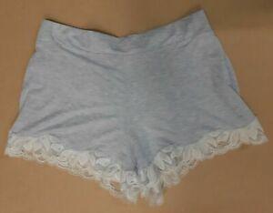Womens Ladies Jersey Soft Pyjama Shorts Sleep Shorts Nightwear size 8