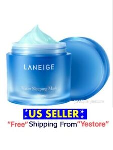 Laneige Water Sleeping Face Mask Moisturizing Care 15 or 70 mL Lotion -US Seller