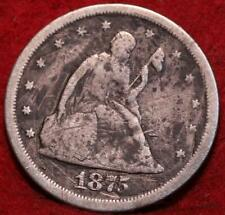 1875-S San Francisco Mint Twenty Cent Silver Coin