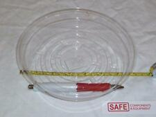 "Plant Saucer Protector 7"" Vinyl Plastic Clear Round Floor Tray QTY-10 MM-149"