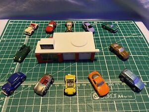 Micro Machines, Galoob, 1988 Target Exclusive Custom Car Shop Collection, Rare