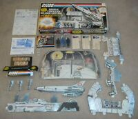 Complete Set 1982 GI Joe Cobra Missile Command Headquarters w/ Box & Blueprints