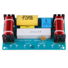 More details for 120w speaker 3 unit hi-fi audio frequency divider 3 way crossover filters hf bw