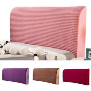 Headboard Cover Bed Head Protector Removable Bedding Slipcover 6 Size