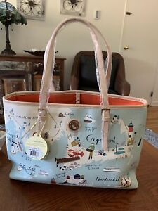 New Spartina 449 Northeastern Harbors Tote Retired