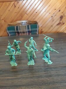 """Original Marx 6"""" Russian Toy Soldiers."""