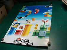 Poster: Super Mario Bros Wii, 2010 Nintendo