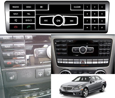 Replacement Radio Button Stickers V2 2010-2016 Mercedes Benz E350 New Free Ship