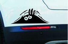 FUNNY PEEKING MONSTER CUTE EYES FOR JDM CAR BUMPER WINDOW VINYL DECAL STICKER