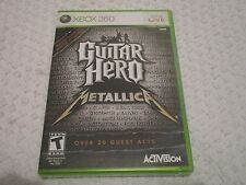 XBox 360 Guitar Hero - Metallica Video Game
