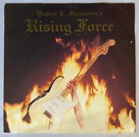 Yngwie J Malmsteen Rising Force LP 1984 Polydor Printed in Holland