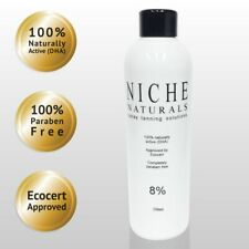 Professional Tanning Solution 6% 250ml Light Fast-Tan Tan Liquid100% Natural UK
