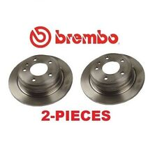 2-Pieces Brembo 25099 Rear Left & Right Disc Brake Rotors For BMW 633Csi 524td