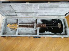 Fender Musicmaster Electric Bass Guitar 1978 Vintage USA Black w/HSC