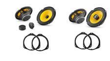 Jl Audio C1 Altavoz delantero y trasero actualizar: BMW X5 E53 00-06